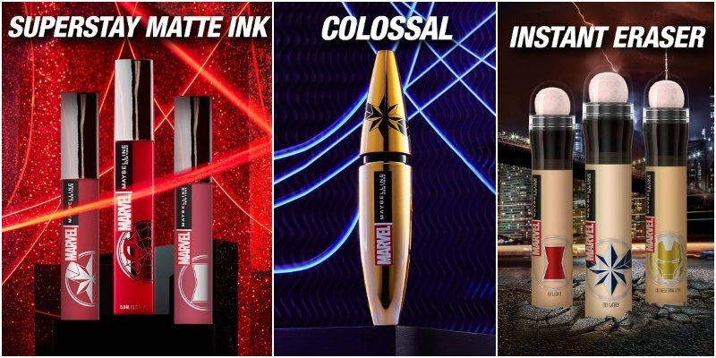 Запознай се с Marvel x Maybelline New York супергероите